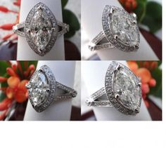 Modern Marquise Diamond Ring Settings   expired ad buy with payon delivery price $ 1650 share share on ...