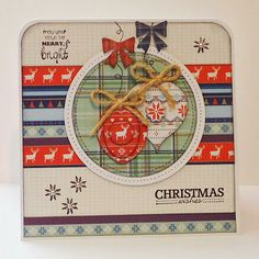 Because it's fun to create...: Series on Satuday #7 - DoCrafts - Christmas in the Country