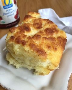 Butter Swim Biscuits - Quick, simple and easy homemade butter biscuits recipe! It takes just a handful of ingredients to m - Butter Biscuits Recipe, Buttery Biscuits, Drop Biscuits, Easy Biscuits, Buttermilk Biscuits, Dessert Biscuits, Buttermilk Recipes, Homemade Biscuits Recipe, Homemade Butter