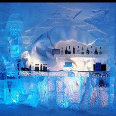 Ice bar. Oslo, Norway  www.cocktailrevolution.com.au  #schweppes #icebar #cooldrink