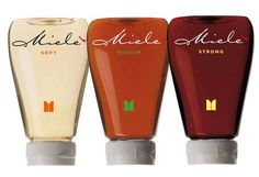 Miele - Honey. Such unusual great packaging for honey IMPDO.