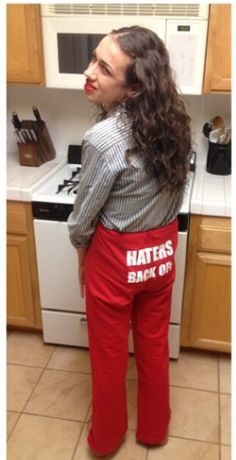 hot-selling clearance great variety styles best loved Haters Back Off Miranda Sings Sweats red/grey every one ...