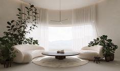 Interior Architecture, Interior And Exterior, Home Room Design, House Design, Living Area, Living Room Decor, Fashion Showroom, Architecture Visualization, Interior Design Inspiration
