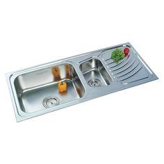 Buy Double Sink 309 in Sinks through online at NirmanKart.com