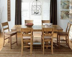 Country Style Dining Room Sets avalon furniture | mystic, counter height dining sets and wood