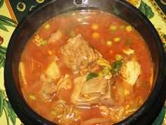 Korean Pork Bone Soup Recipe