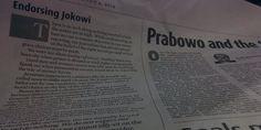 Didukung koran The Jakarta Post, ini kata Jokowi - Yahoo News Indonesia