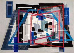 Formal Arrangement, 1947 by Irene Rice Pereira (1902-1971)