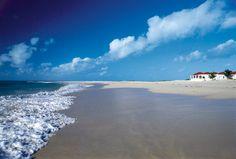 """""""My life is like a stroll upon the beach, As near the ocean's edge as I can go."""" [Curaçao]"""