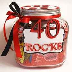 Ideas For 40th Birthday Gifts Diy 40 Gift