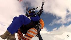 009783  gudauri paragliding полет гудаури