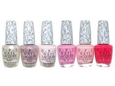 OPI Hello Kitty Pinks Collection 2016 Nail Lacquer Set of 6