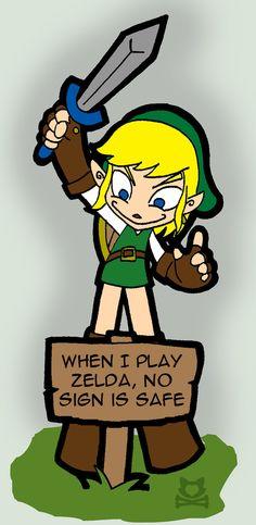 LINK - No sign is safe