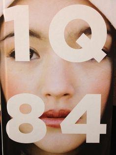 Haruki Murakami cover book 1q84 (1984) typography