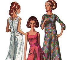 1960s Vintage Pattern Bust 40 Simplicity 7023 Jumpsuit & Overblouse Size 20 UNCUT FF on Etsy, $14.50