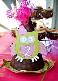 The Iowa Farmer's Wife: Sweet P's Owl Birthday Extravaganza