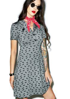 Sourpuss Clothing Bats Rosie Dress
