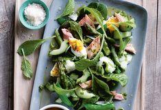 Räucherforellen-Borretsch-Salat
