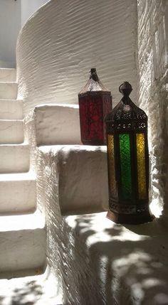 Shadows in Cyclades