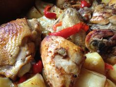 Roasted Chicken/Frango Assado No Forno