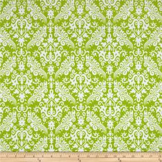 Designed by RBD Designers, this double-napped (brushed on both sides) flannel is perfect for quilting, apparel and home decor accents.  Colors include white and lime.