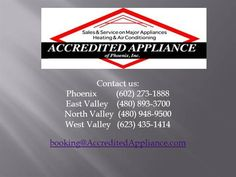 Mesa Appliance Repair - 480-893-3700