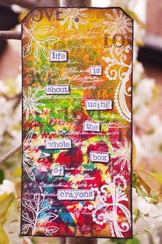 The Hobby Room (Michelle Webb): Dylusions