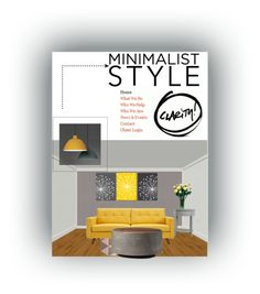 """""""Minimalist Style"""" by tinydancer2018 ❤ liked on Polyvore featuring interior, interiors, interior design, home, home decor, interior decorating, Bobby Berk Home, Inspire Q, FontanaArte and Minimaliststyle"""