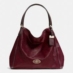 The Large Edie Shoulder Bag In Haircalf from Coach.. This color bag over everything