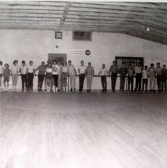 Burch's Skating Rink--1957.  With all its progress, we had more stuff to do in Springville back in the day---we had a movie theater, a swimming pool and a skating rink. Used to meet my fellow here in Junior High--in the 60's. His church youth group had a skate night....slj