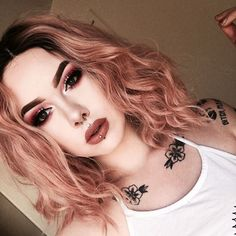 Peach Synthetic Lace Front Wig - UniWigs ® Official Site