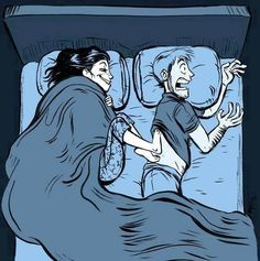 Why Your Spouse Always Has Cold Feet Does the temperature of your bedroom plummet when your partner crawls under the bed sheets? When their icy cold feet touch yours, do you scream? Sometimes, always-cold feet aren't attributable to a. Funny Quotes, Funny Memes, Funny Cartoons, Clumsy Quotes, Cartoon Humor, Quotes Pics, Funny Sarcasm, Gym Memes, Funny Comedy