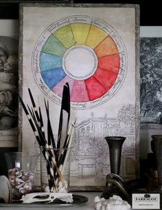 Colour Wheel ~ new project added to the FARRAGOZ Patina PROJECTS Course!