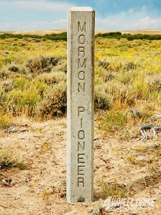 The Mormon Handcart Trail Mormon Pioneer