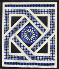 Northern Star quilt show 2016 Colorful Quilts, Blue Quilts, Pattern Blocks, Quilt Patterns, Surface Art, Medallion Quilt, Scrap Material, Fabric Manipulation, Free Motion Quilting
