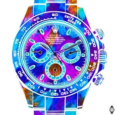 Rolex Daytona Fluo Purple (Limited edition of - Diamond Canvas Ltd