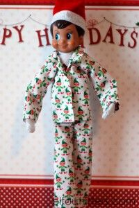 Elf on the Shelf Pajama Sets - with a wide variety of styles and patterns to choose from!  Other really cute ideas from Elf Outfitters include the below finds. And these are all priced between $5-$12. Brilliant!