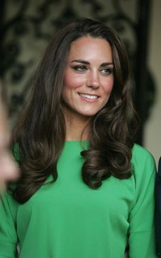 Kate - Diane Von Furstenberg Green Dress Private Reception at The British Consul-General's House Los Angeles 8 July 2011