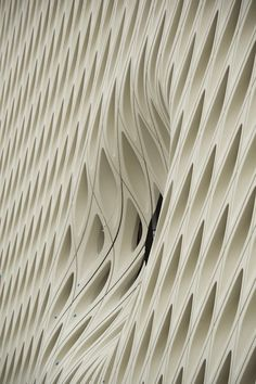 detail at the Broad Museum by Diller Scofidio + Renfro