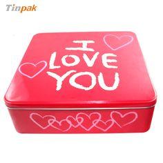 square food tin box