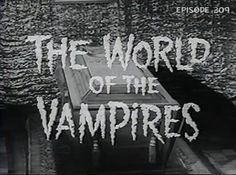 BMC309-The World of the Vampires 1961