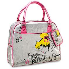 Glitter Tinker Bell Bag   Bags & Totes   Disney Store