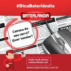 Uma maneira de negociar seu automóvel de forma rápida é anunciá-lo em sites de classificados.  #AnunciouVendeu