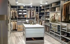 14 Walk In Closet Designs For Luxury Homes – [pin_pinter_full_name] 14 Walk In Closet Designs For Luxury Homes Fantastic luxury closets for your Master Bedroom. Walk In Closet Design, Bedroom Closet Design, Bedroom Wardrobe, Closet Designs, Walking Closet, Dream Master Bedroom, Master Bedrooms, Dressing Room Design, Walk In Wardrobe