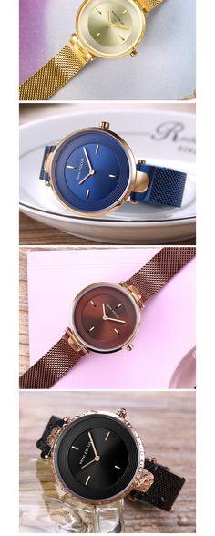 MINI FOCUS MF0195L Unique Dial Display Ladies Wrist Watch Quartz Watches, Bag Accessories, Bracelet Watch, Jewelry Watches, Display, Lady, Mini, Unique, Casual