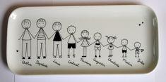 Pebeo Porcelaine 150, Painted Mugs, Ceramic Art, Family Portraits, Hobbies, Pottery, Plates, Blog, Silhouette