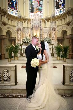 Catholic Wedding in a Vintage Church