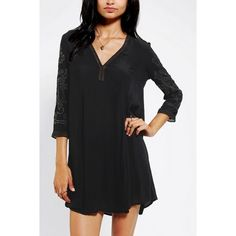 Urban Outfitters Ecote Studded Long Sleeve Dress Cute dress from Urban Outfitters. Bought, but never wore. Super cute for the holidays with the embellished sleeves. Ecote Dresses Midi
