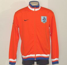 Nike KNVB Orange Jacket Netherlands XL Nederland Soccer Dutch Cup Football NWOT #Nike #KNVBCupNederland