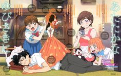 March comes in like a lion (3月のライオン)A warm and lovely home scene with the Kawamotos is the focus of the latest Sangatsu no Lion spread from Newtype Magazine, once again illustrated by key animator Kazuya Shiotsuki (潮月一也).